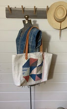 Load image into Gallery viewer, Quilt Patch Tote