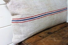 Load image into Gallery viewer, European Stripe Grain Sack Pillow Cover