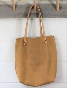 Leather + Cowhide Tote
