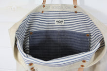 Load image into Gallery viewer, Naval Duffel Tote (Sold Out)