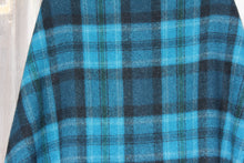 Load image into Gallery viewer, Plaid Blanket Poncho
