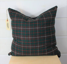 Load image into Gallery viewer, Wool Tartan Pillow Cover
