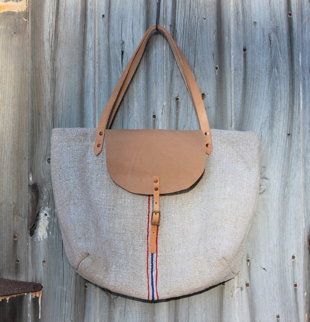 European Grain Sack Tote