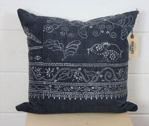 Chinese Batik Pillow