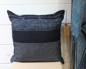 Indigo Hill Tribe Pillow