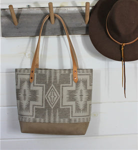 Wool South Western pattern Tote
