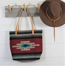 Load image into Gallery viewer, Chimayo Wool Blanket Bag