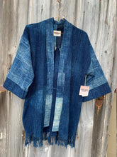Load image into Gallery viewer, Indigo Quilt Jacket