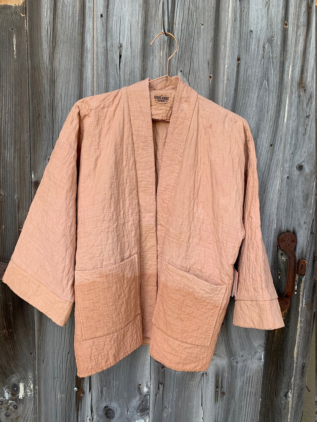 Natural Dyed Quilt Jacket