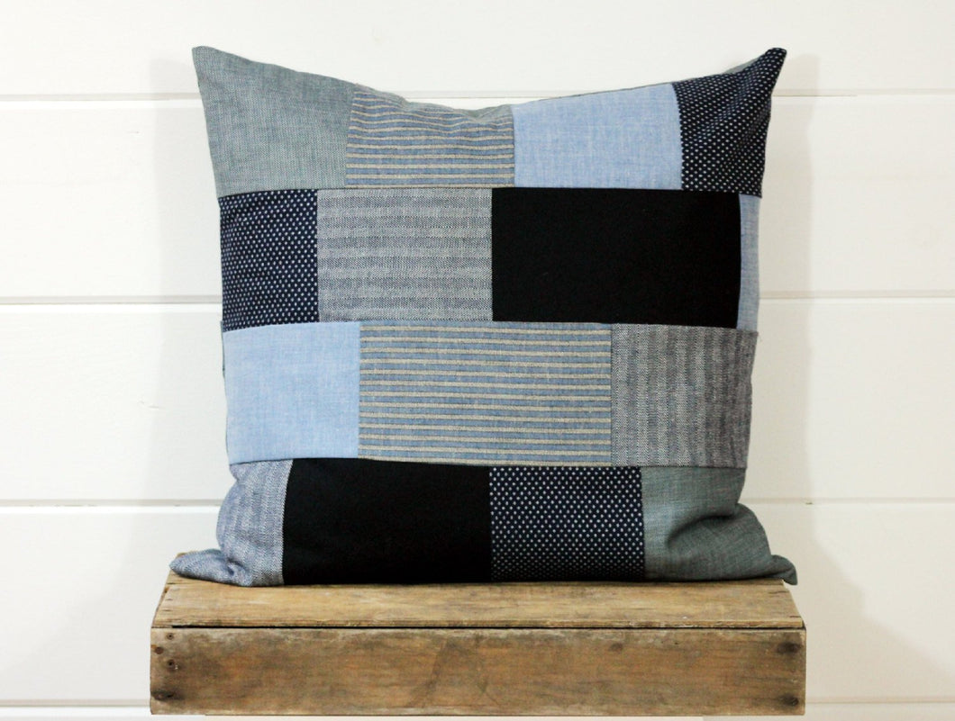 Heritage Patchwork Pillow Cover