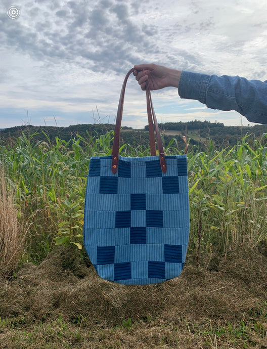 The Highlands Foundry X Salt + Still Reverse Quilt Tote