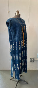 Indigo Shibori Duster Dress(Sold Out)