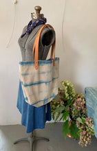 Load image into Gallery viewer, Shibori Canvas Tote