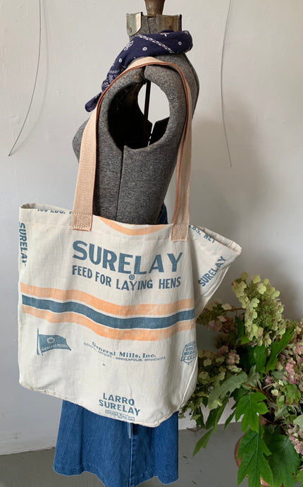 Feed Sack Market Bag