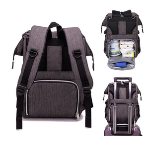 Talia USB Diaper Backpack Bag