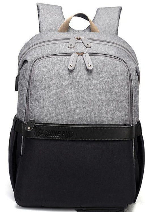 Omni USB Diaper Backpack Bag - Bebe Luv