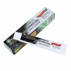 Bamboo Charcoal Tooth Whitening Black Toothpaste - Shop Daily Use