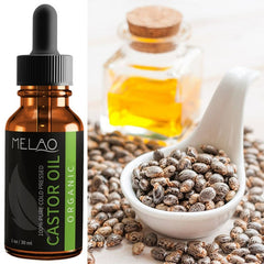 Eyelash Growth Essential Natural Castor Oil - Shop Daily Use