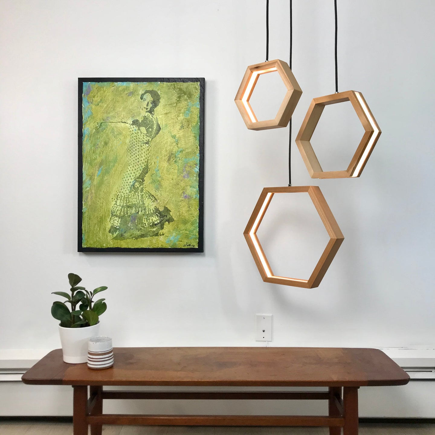 HEXAGON Pendant Lighting Series