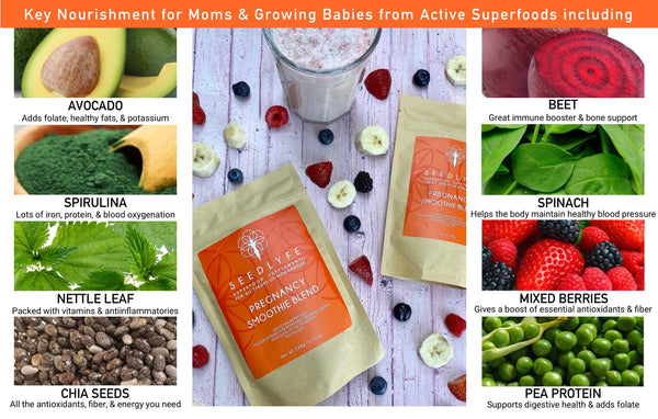 PREGNANCY SUPPLEMENT SMOOTHIE BLEND, 58g, 7 Servings