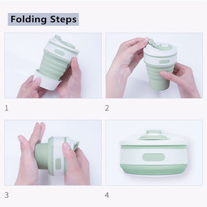 GIFTSKING REUSABLE Collapsible Cups