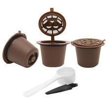 Load image into Gallery viewer, GIFTSKING 3pcs/pack Refillable Reusable for Nespresso Coffee Capsule