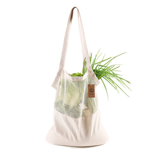 GIFTSKING Eco Cotton Net Shopping Bag