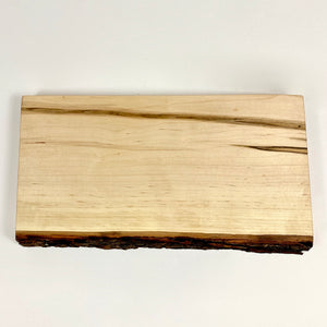 Bark Edge Ambrosia Maple Cutting Board
