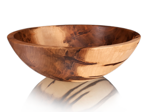 Round Ambrosia Maple Bowl