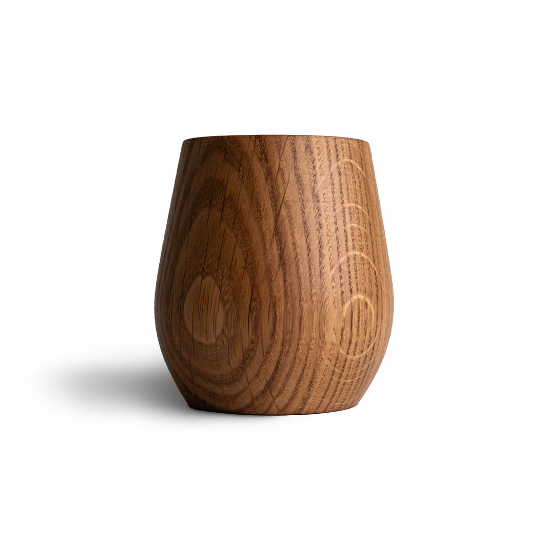 Oak Whiskey Tumblers
