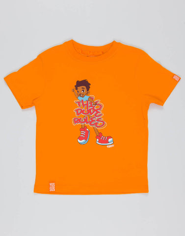 THIS DUDE RULES – OUTRAGEOUS ORANGE, BOYS TSHIRT - NOWNOW