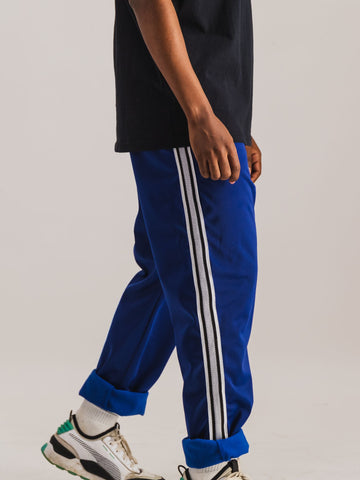 Trackpants in Dark Blue - NOWNOW