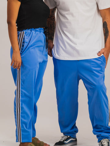 Trackpants in Light Blue - NOWNOW