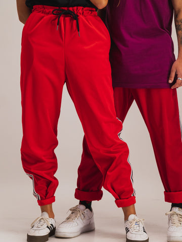 Trackpants in Red - NOWNOW