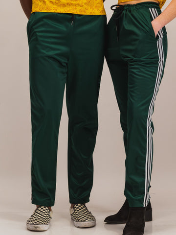 Trackpants in Green - NOWNOW