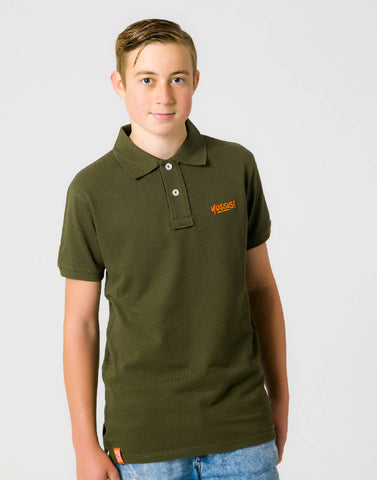 YUSSUS + Y TAGS – GROWTH GREEN, MENS POLO SHIRT - NOWNOW