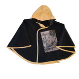 Black Clover Poncho by Red Thread Apparel