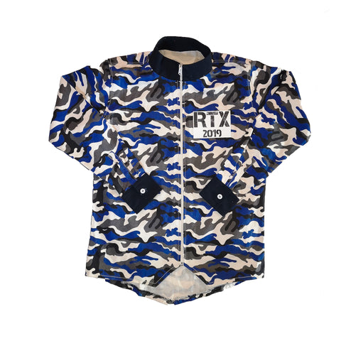 Blue Camo Jojo Jacket by Red Thread Apparel