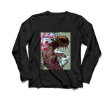 Steel Ball Run in Black Long Sleeve T-Shirt by Red Thread Apparel