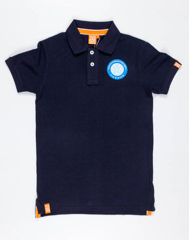 YUSSUS SAW SYA – NOCTURNAL NAVY, MENS POLO SHIRT - NOWNOW