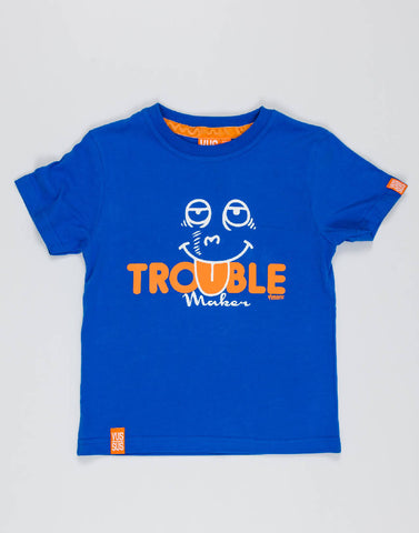 TROUBLE MAKER – RADICAL ROYAL, BOYS TSHIRT - NOWNOW