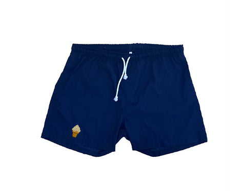 """ice cream"" swim shorts - NOWNOW"