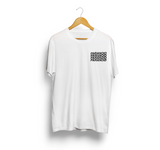 Paranoid White T-Shirt by NWNW - NOWNOW