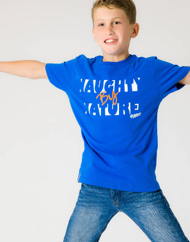 NAUGHTY BY NATURE – RADICAL ROYAL, BOYS TSHIRT - NOWNOW