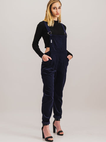 Dungaree in Navy - NOWNOW