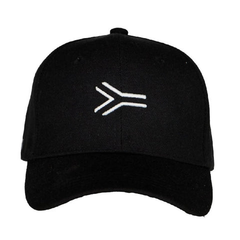 BASEBALL ESSENTIAL CAP BLACK - NOWNOW