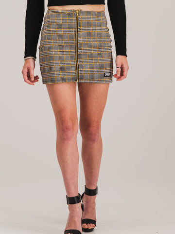 Check Skirt - NOWNOW