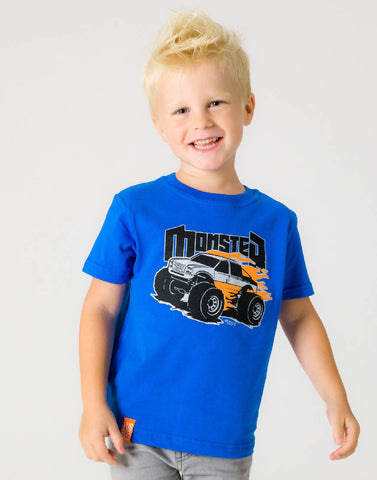MONSTER TRUCK – RADICAL ROYAL, BOYS TSHIRT - NOWNOW