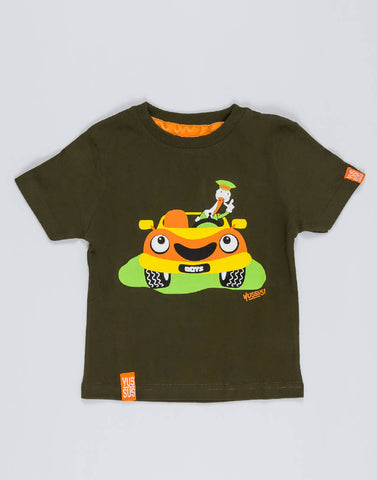 CAR – GROWTH GREEN, BOYS TSHIRT - NOWNOW