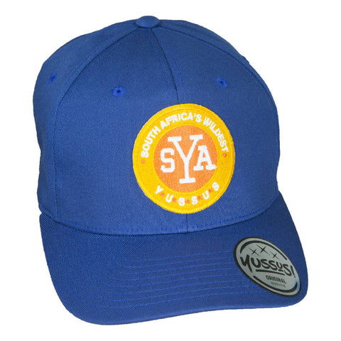 YUSSUS -ROYAL, X-SHAPE CAP, SYA BADGE - NOWNOW
